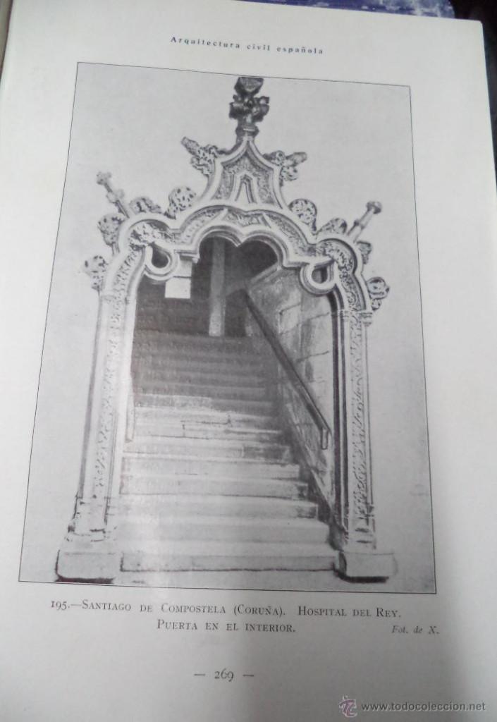 Libros antiguos: Arquitectura Civil Española de los siglos I al XVIII. Tomo 1. Arquitectura Privada. Calleja, 1922 1 - Foto 5 - 108096979