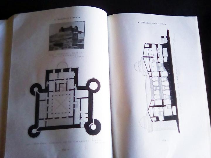 Libros antiguos: Arquitectura Civil Española de los siglos I al XVIII. Tomo 1. Arquitectura Privada. Calleja, 1922 1 - Foto 8 - 108096979