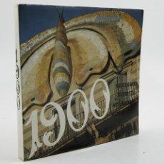 Libros antiguos: 1900 MODERNISME A BARCELONA, 1972, ED. POLÍGRAFA, EDICIÓN MULTILINGÜE. 20,5X21CM. Lote 109347411