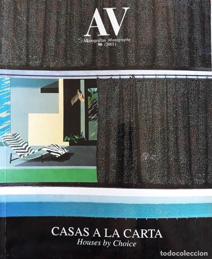 AV MONOGRAPHS 90 CASAS A LA CARTA-HOUSES BY CHOICE 2002 ARQUITECTURA VIVIENDA (Libros Antiguos, Raros y Curiosos - Bellas artes, ocio y coleccion - Arquitectura)