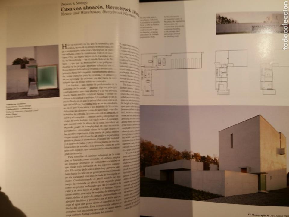 Libros antiguos: AV MONOGRAPHS 90 CASAS A LA CARTA-HOUSES BY CHOICE 2002 Arquitectura Vivienda - Foto 5 - 110553615