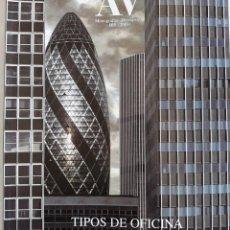 Libros antiguos: AV MONOGRAPHS N.103 MONOGRAFÍAS ARQUITECTURA Y VIVIENDA 2003 TIPOS DE OFICINA. Lote 110560923