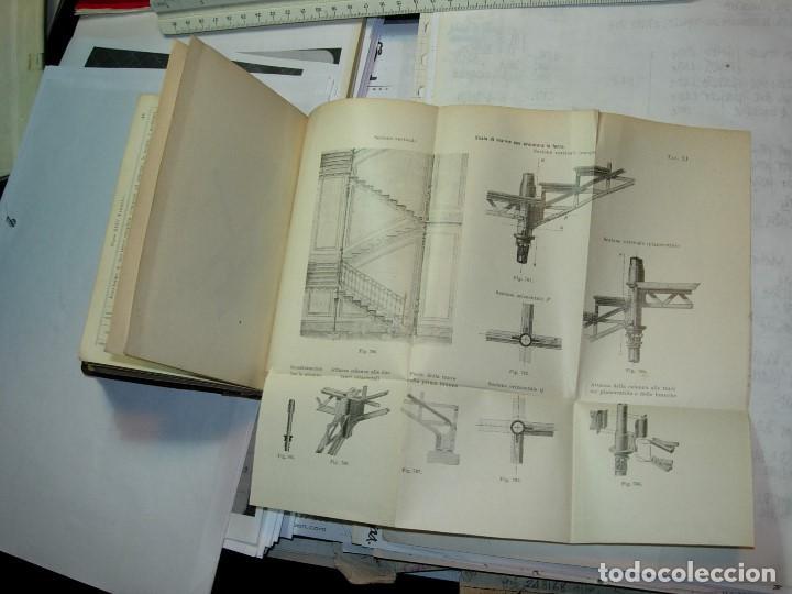 Libros antiguos: CONSTRUZONI METALLICHE por G. Pizzamaglio. VADEMECUM - Foto 7 - 111280535