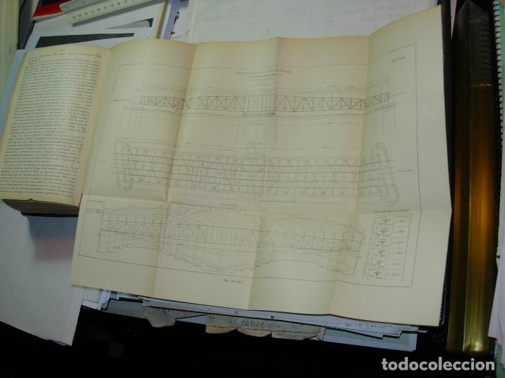 Libros antiguos: CONSTRUZONI METALLICHE por G. Pizzamaglio. VADEMECUM - Foto 8 - 111280535