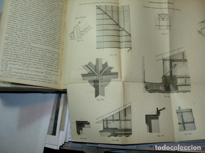 Libros antiguos: CONSTRUZONI METALLICHE por G. Pizzamaglio. VADEMECUM - Foto 9 - 111280535