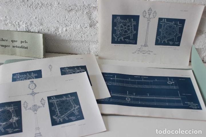 Libros antiguos: Plaça de Catalunya. Josep Puig i Cadafalch Projectes. Llibreria Catalonia 1927 modernisme modernismo - Foto 4 - 142729009