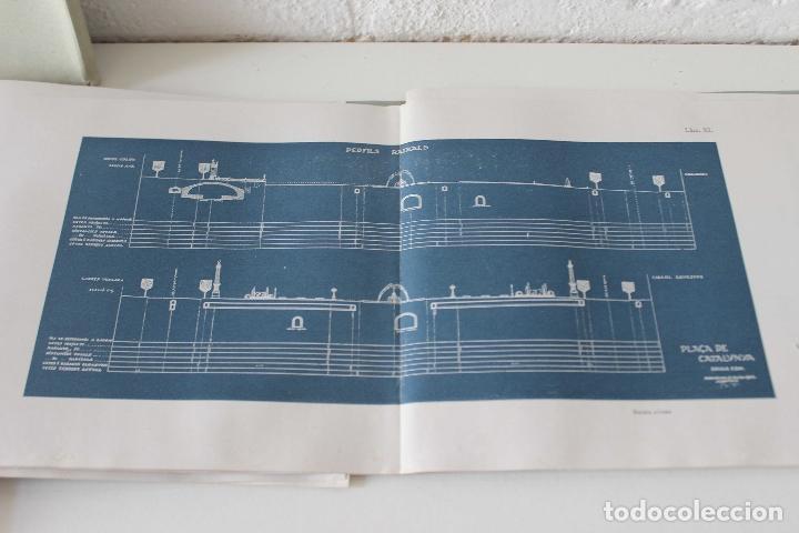 Libros antiguos: Plaça de Catalunya. Josep Puig i Cadafalch Projectes. Llibreria Catalonia 1927 modernisme modernismo - Foto 5 - 142729009