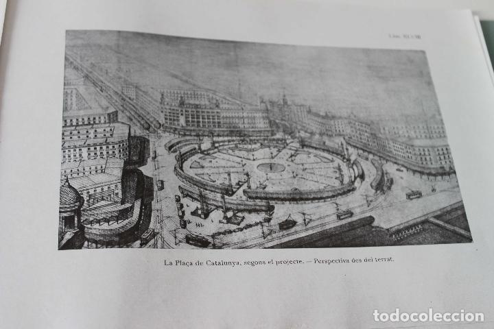 Libros antiguos: Plaça de Catalunya. Josep Puig i Cadafalch Projectes. Llibreria Catalonia 1927 modernisme modernismo - Foto 6 - 142729009