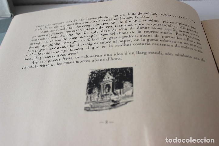 Libros antiguos: Plaça de Catalunya. Josep Puig i Cadafalch Projectes. Llibreria Catalonia 1927 modernisme modernismo - Foto 12 - 142729009