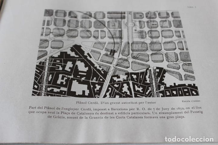 Libros antiguos: Plaça de Catalunya. Josep Puig i Cadafalch Projectes. Llibreria Catalonia 1927 modernisme modernismo - Foto 14 - 142729009