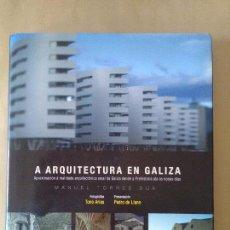 Libros antiguos: ARQUITECTURA EN GALICIA. Lote 112998095
