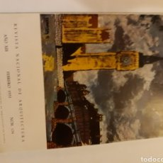 Libros antiguos: ARQUITECTO ARQUITECTURA 134 AÑO 1953 PARROQUIA FRANCISCO JAVIER PAMPLONA PARROQUIA COVADONGA MADRID. Lote 113016888