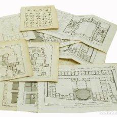 Libros antiguos: 1767 - MUY IMPORTANTE ARQUITECTURA LÁMINAS GRABADAS DE LA ENCYCLOPEDIE DE DIDEROT Y D'ALEMBERT. Lote 113148031