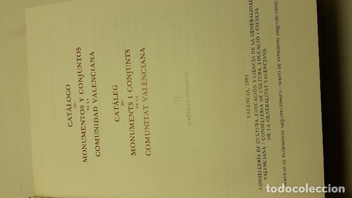 Libros antiguos: CATALOGO DE MONUMENTOS Y CONJUNTOS DE LA COMUNIDAD VALENCIANA - Foto 8 - 113232491