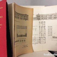 Libros antiguos: PLANOS MODELOS DE ESCUELAS GRADUADAS CON PRESUPUESTOS REDUCIDOS. 1912. (LÁMINAS. ARQUITECTURA . Lote 113246099
