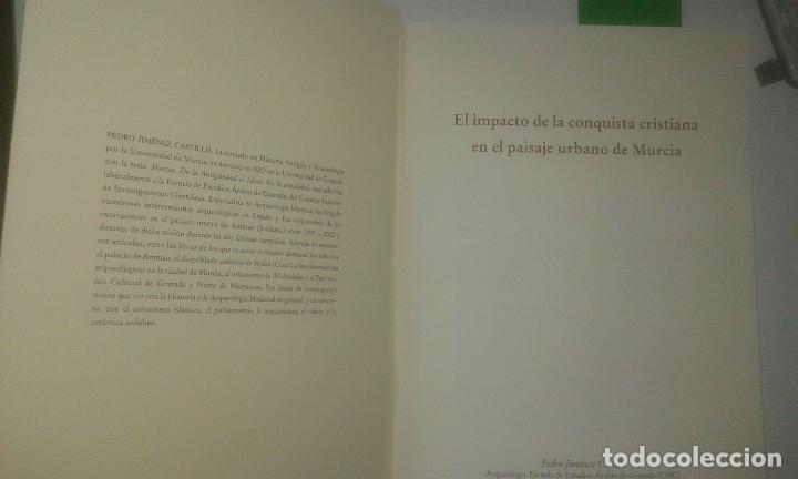Libros antiguos: El impacto de la conquista cristiana en el paisaje urbano de Murcia - Pedro Jiménez Castillo - Foto 2 - 114271851