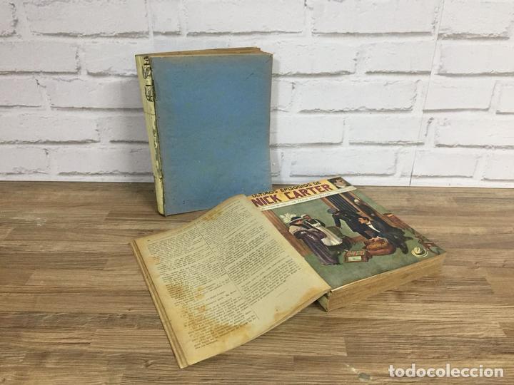 EXCLUSIVA COLECCIÓN COMPLETA ENCUADERNADA DE LOS EPISODIOS DE NICK CARTER AÑOS 30, 3 TOMOS 100 NÚMER (Libros Antiguos, Raros y Curiosos - Bellas artes, ocio y coleccion - Arquitectura)