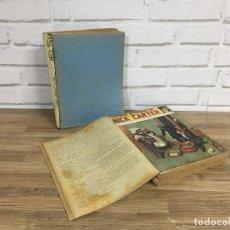 Libros antiguos: EXCLUSIVA COLECCIÓN COMPLETA ENCUADERNADA DE LOS EPISODIOS DE NICK CARTER AÑOS 30, 3 TOMOS 100 NÚMER. Lote 114321467