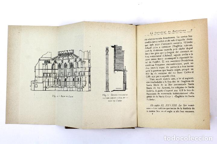 Libros antiguos: L-2871 LA CATEDRAL DE BARCELONA. FELIU ELIAS. EDITORIAL BARCINO, ANY 1926. - Foto 11 - 114428839
