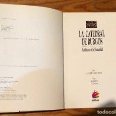 Libros antiguos: LA CATEDRAL DE BURGOS(30€). Lote 114913807