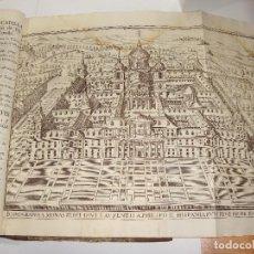 Libros antiguos: DESCRIPCION DEL REAL MONASTERIO DE SAN LORENZO DEL ESCORIAL. ANDRES XIMENEZ. 1764. CON GRABADOS.. Lote 115125679