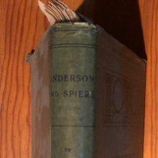 Libros antiguos: DIE ARCHITEKTUR VON GRIECHENLAND UND ROM (30 €). Lote 115200379