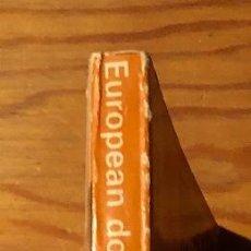 Libros antiguos: EUROPEAN DOMESTIC ARCHITECTURE(30 €). Lote 115201867