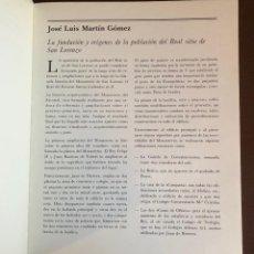 Libros antiguos: POBLACIÓN Y MONASTERIO(30€). Lote 115931435