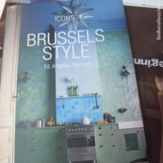 Libros antiguos: BRUSSELS STYLE -TASCHEN-MODERNISMO -191 PG. Lote 116131455