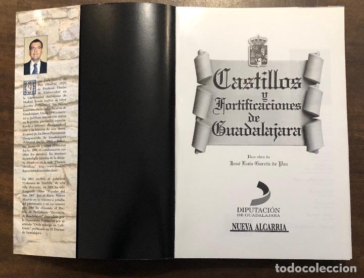 CASTILLOS Y FORTIFICACIONES DE GUADALAJARA(40€) (Libros Antiguos, Raros y Curiosos - Bellas artes, ocio y coleccion - Arquitectura)