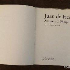 Libros antiguos: JUAN DE HERRERA-ARCHITECT TO PHILIP II OF SPAIN(35€). Lote 116487063