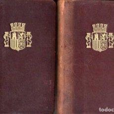 Libros antiguos: MONUMENTOS ESPAÑOLES (MADRID, 1932) DOS TOMOS - PLENA PIEL CON ESTUCHE. Lote 116614667