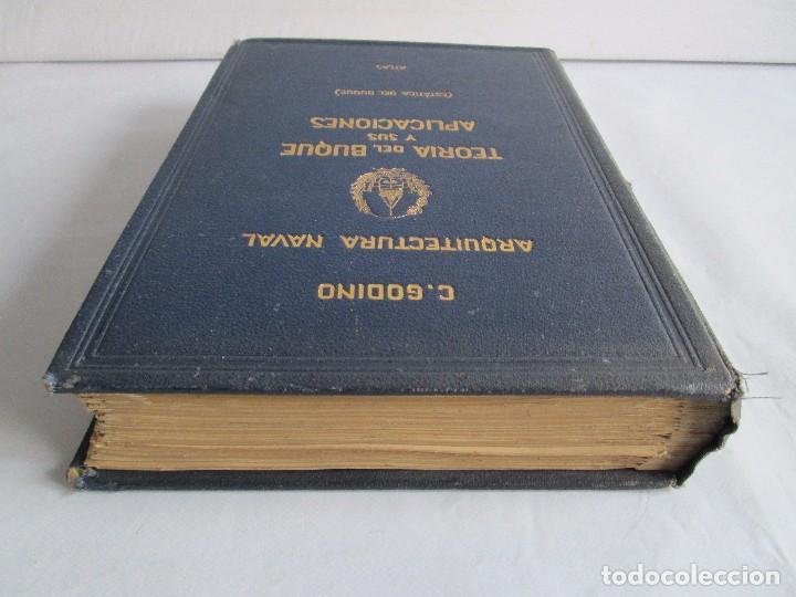 Libros antiguos: CARLOS GODINO. ARQUITECTURA NAVAL. TEORIA DEL BUQUE Y SUS APLICACIONES. ATLAS 1934 - Foto 5 - 118150447
