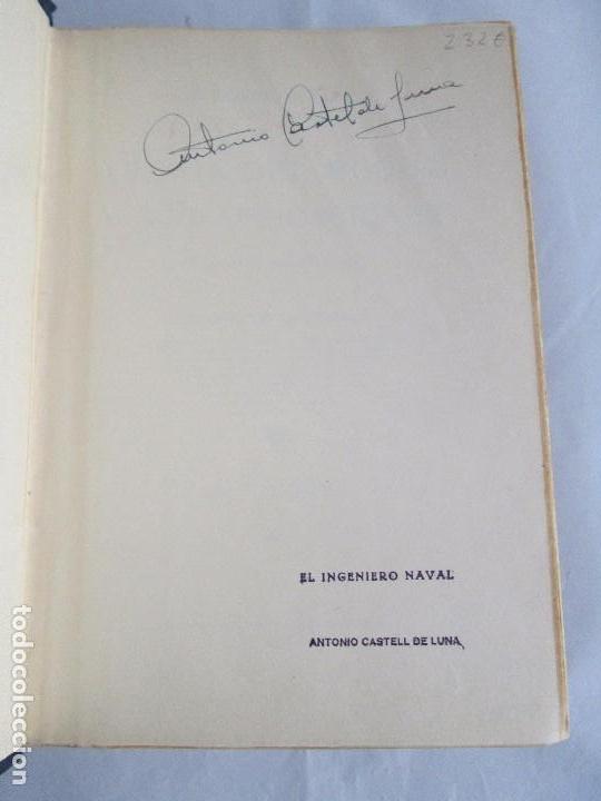 Libros antiguos: CARLOS GODINO. ARQUITECTURA NAVAL. TEORIA DEL BUQUE Y SUS APLICACIONES. ATLAS 1934 - Foto 7 - 118150447