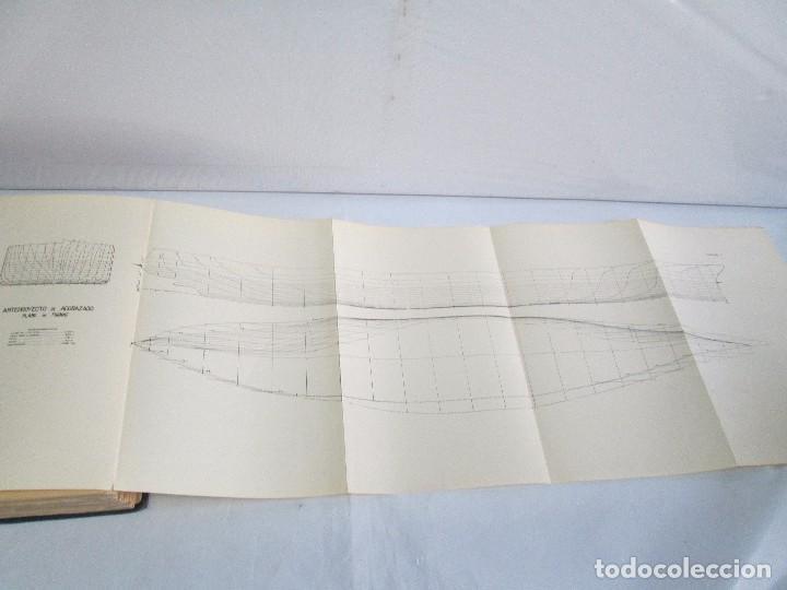Libros antiguos: CARLOS GODINO. ARQUITECTURA NAVAL. TEORIA DEL BUQUE Y SUS APLICACIONES. ATLAS 1934 - Foto 9 - 118150447