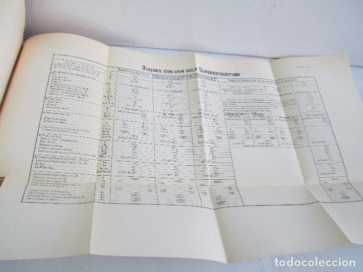 Libros antiguos: CARLOS GODINO. ARQUITECTURA NAVAL. TEORIA DEL BUQUE Y SUS APLICACIONES. ATLAS 1934 - Foto 14 - 118150447