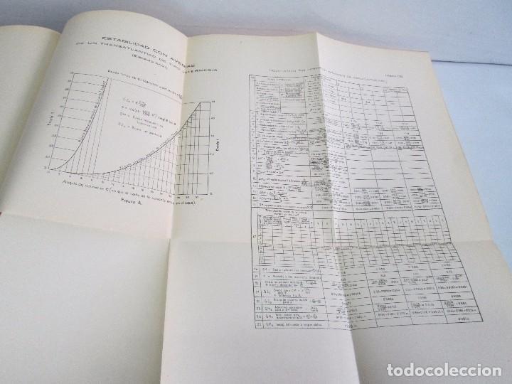 Libros antiguos: CARLOS GODINO. ARQUITECTURA NAVAL. TEORIA DEL BUQUE Y SUS APLICACIONES. ATLAS 1934 - Foto 18 - 118150447