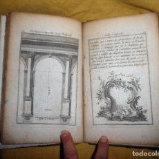 Libros antiguos: REGLAS DE LOS CINCO ORDENES DE ARQUITECTURA DE VIGNOLA - AÑO 1750 - BELLAS LAMINAS.. Lote 119119475
