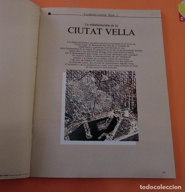 Libros antiguos: BARCELONA (CIUTAT VELLA) *****ARQUITECTURA***** Nº1 - Foto 2 - 119931219