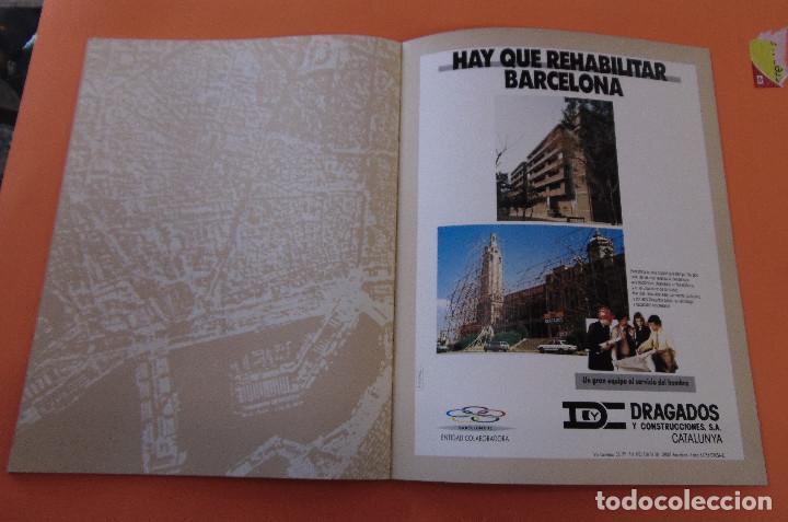 Libros antiguos: BARCELONA (CIUTAT VELLA) *****ARQUITECTURA***** Nº1 - Foto 9 - 119931219