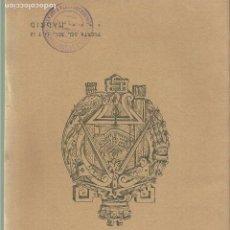 Libros antiguos: 963.- ARQUITECTURA-CATALOGO DE EDIFICACIONES DEL BANCO DE URBANIZACION DE MADRID. Lote 122123207