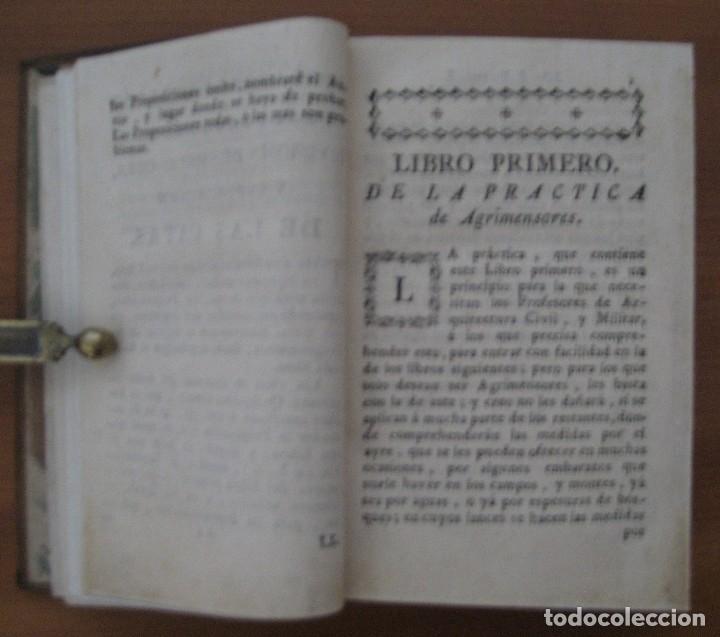 Libros antiguos: EL ARQUITECTO PRÁCTICO, CIVIL, MILITAR, Y AGRIMENSOR, DIVIDIDO EN TRES LIBROS. (2ª IMPRESIÓN, 1793). - Foto 5 - 122206267
