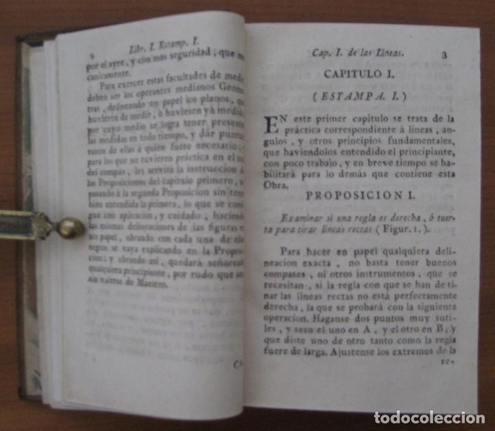 Libros antiguos: EL ARQUITECTO PRÁCTICO, CIVIL, MILITAR, Y AGRIMENSOR, DIVIDIDO EN TRES LIBROS. (2ª IMPRESIÓN, 1793). - Foto 6 - 122206267