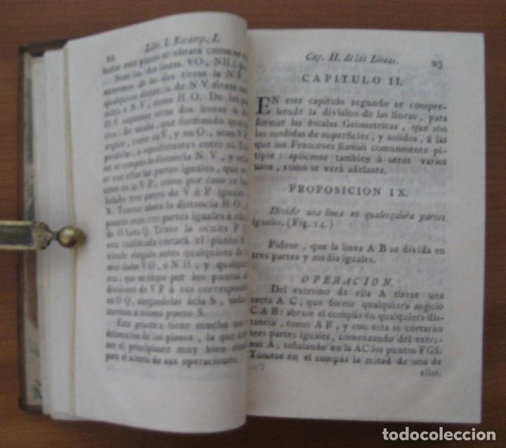 Libros antiguos: EL ARQUITECTO PRÁCTICO, CIVIL, MILITAR, Y AGRIMENSOR, DIVIDIDO EN TRES LIBROS. (2ª IMPRESIÓN, 1793). - Foto 7 - 122206267
