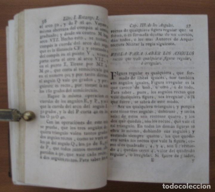 Libros antiguos: EL ARQUITECTO PRÁCTICO, CIVIL, MILITAR, Y AGRIMENSOR, DIVIDIDO EN TRES LIBROS. (2ª IMPRESIÓN, 1793). - Foto 8 - 122206267