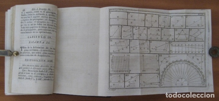 Libros antiguos: EL ARQUITECTO PRÁCTICO, CIVIL, MILITAR, Y AGRIMENSOR, DIVIDIDO EN TRES LIBROS. (2ª IMPRESIÓN, 1793). - Foto 9 - 122206267