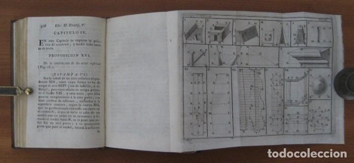 Libros antiguos: EL ARQUITECTO PRÁCTICO, CIVIL, MILITAR, Y AGRIMENSOR, DIVIDIDO EN TRES LIBROS. (2ª IMPRESIÓN, 1793). - Foto 14 - 122206267