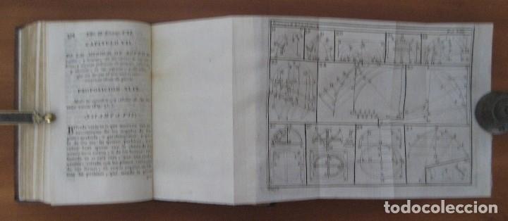 Libros antiguos: EL ARQUITECTO PRÁCTICO, CIVIL, MILITAR, Y AGRIMENSOR, DIVIDIDO EN TRES LIBROS. (2ª IMPRESIÓN, 1793). - Foto 15 - 122206267