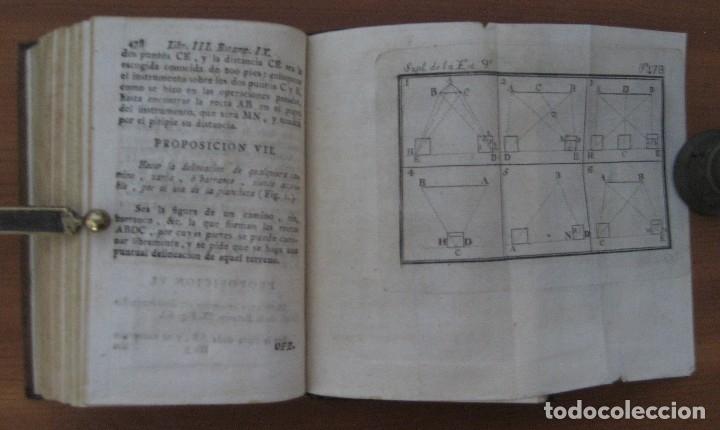 Libros antiguos: EL ARQUITECTO PRÁCTICO, CIVIL, MILITAR, Y AGRIMENSOR, DIVIDIDO EN TRES LIBROS. (2ª IMPRESIÓN, 1793). - Foto 18 - 122206267