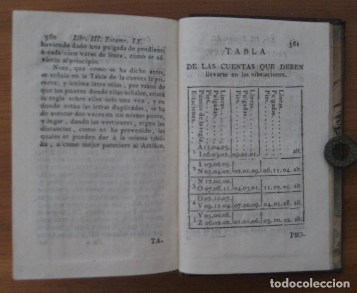 Libros antiguos: EL ARQUITECTO PRÁCTICO, CIVIL, MILITAR, Y AGRIMENSOR, DIVIDIDO EN TRES LIBROS. (2ª IMPRESIÓN, 1793). - Foto 19 - 122206267